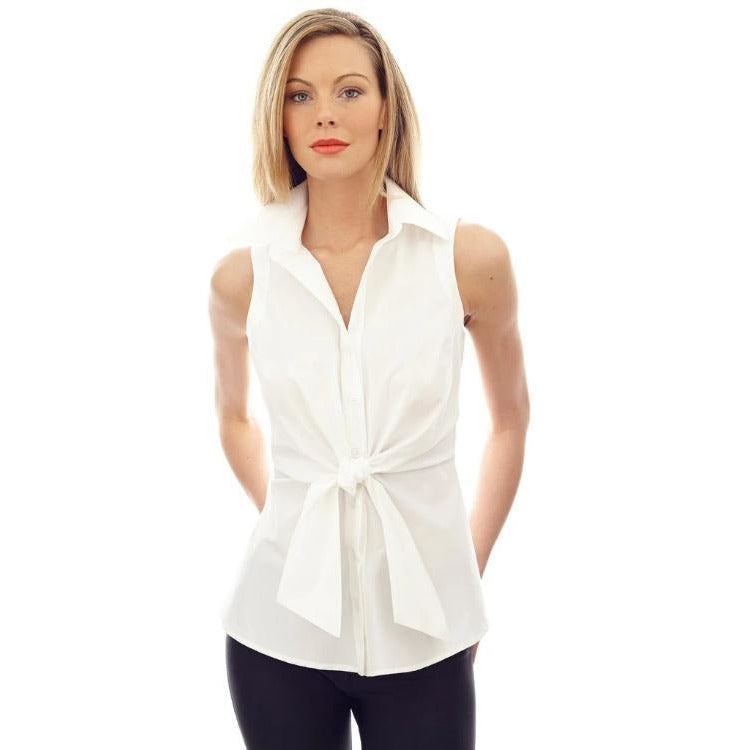 Finley Shirts Sleeveless Walter 1769049 | Shop Classic White Shirts | Finley Shirts Now
