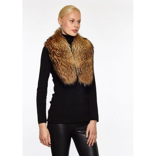 Linda Richards Raccoon Fur Collar FC01