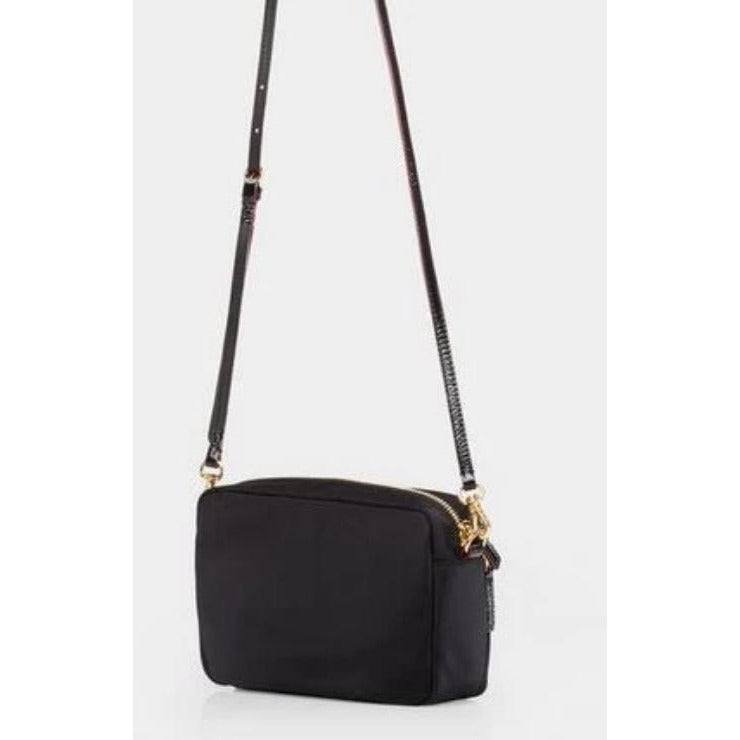 MZ Wallace Gramercy Cross Body Bag  Black Nylon | Shop MZ Wallace Handbags, Totes, Travel and Crossbody Bags