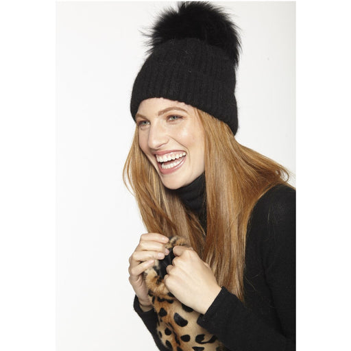 Linda Richards Wool Pom Pom Hat HA62