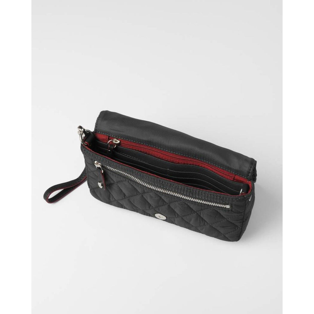 MZ Wallace Crosby Convertible Wristlet | Black