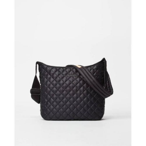 MZ Wallace Parker Quilted Nylon Medium Crossbody | Black 1248X1590
