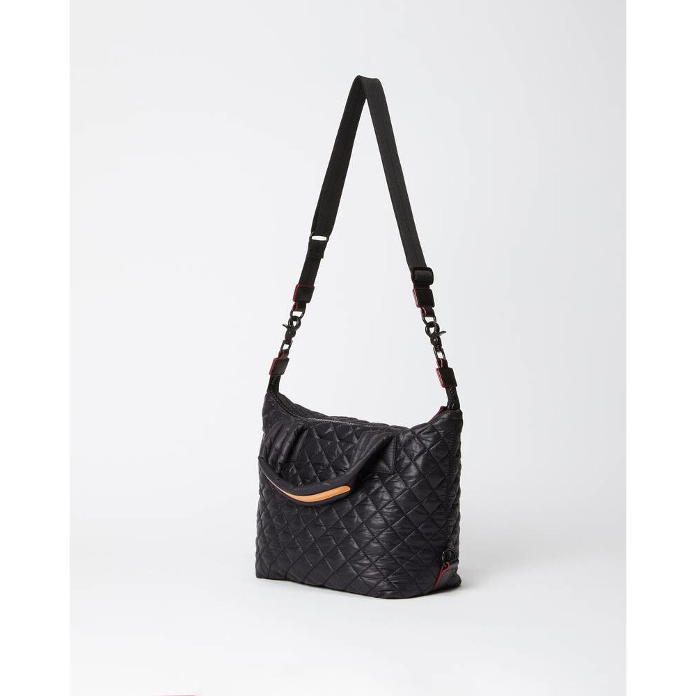 MZ Wallace Sutton Deluxe Small Quilted Bag | Black