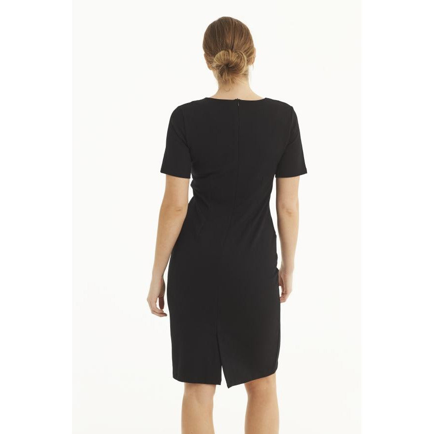 Ilse Jacobsen Short Sleeve Ponte Dress Jalla 14 | Clearance Sale | No Return