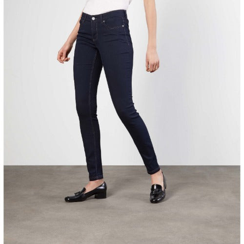 Mac Jeans Dream Skinny 5402-00- 355 Dark Rinse D801 | Mac Premium Denim