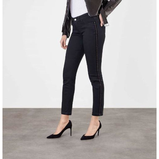 Mac Jeans Dream Slim Denim Velvet Chain 5435 | Black 999