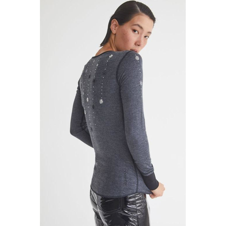 Alp N Rock Kirsi Henley Heather Black