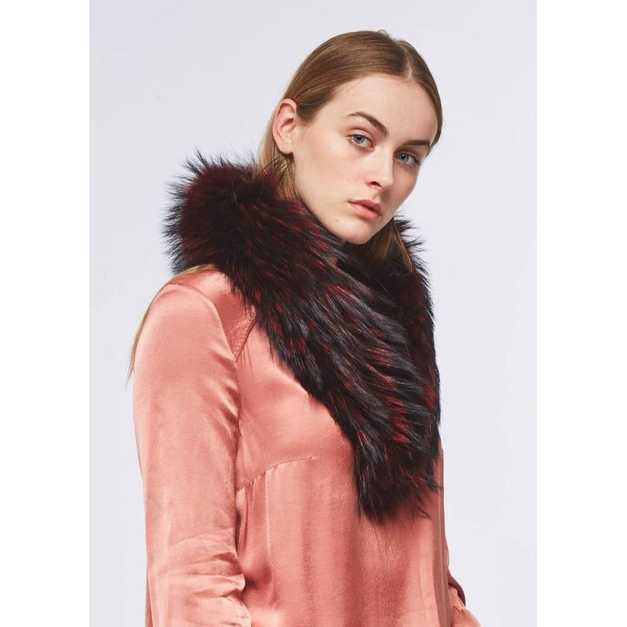 Natures Collection Klara Raccoon Fur Collar NCF1086