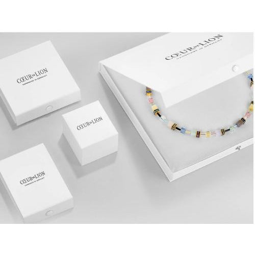 CŒUR de LION GeoCUBE® Necklace | Gentle-283810576| Branded Box