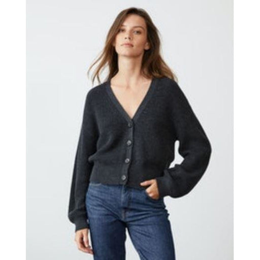 Velvet Riley V Neck Button Front Cardigan | Clearance Final Sale