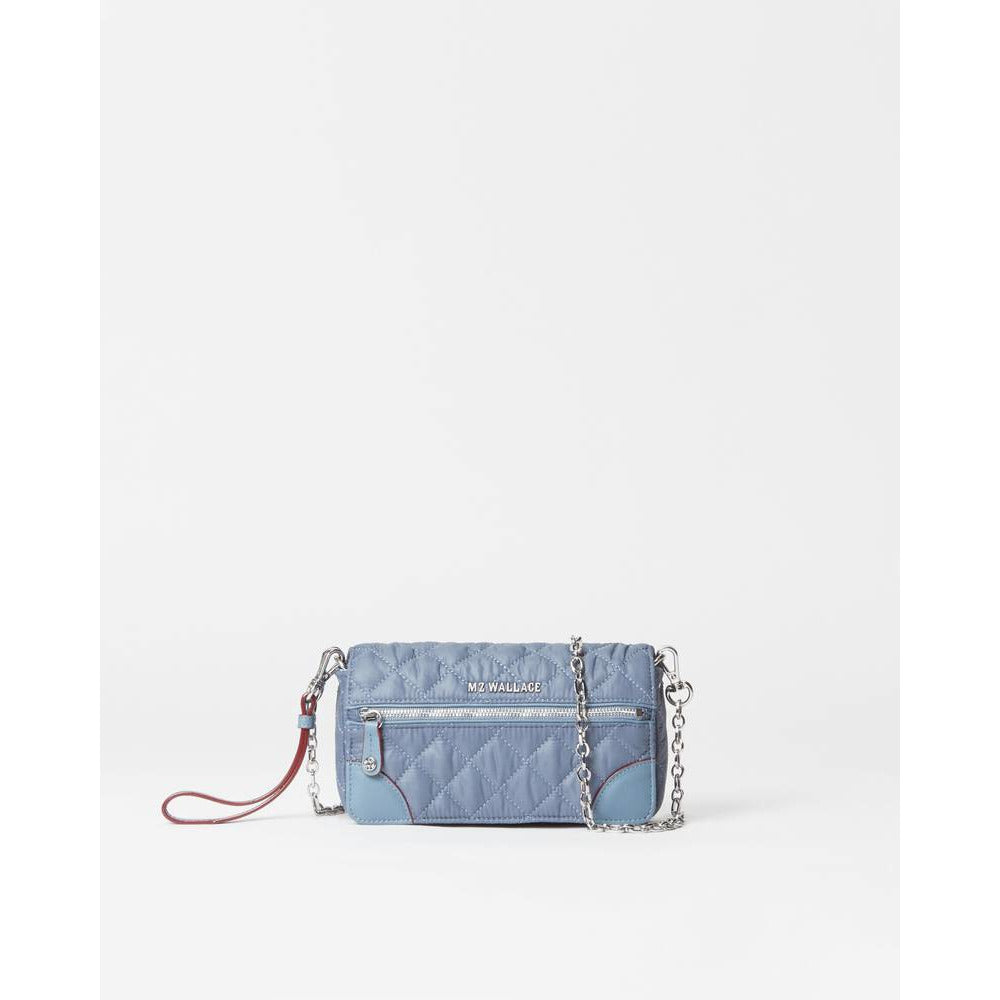 MZ Wallace Crosby Convertible Wristlet  | Coastal Blue