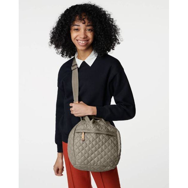 MZ Wallace Metro Drawstring Bucket Bag Graphite | Shop MZ Wallace Quilted Bags