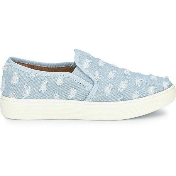 Sofft Shoes Somers Light Denim Slip On Sneaker | Shop Our Everyday Comfortable Shoes and Sneakers by Sofft today!
