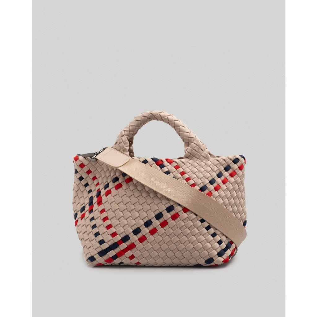 NAGHEDI St. Barth's Mini Plaid Bag | Harbour