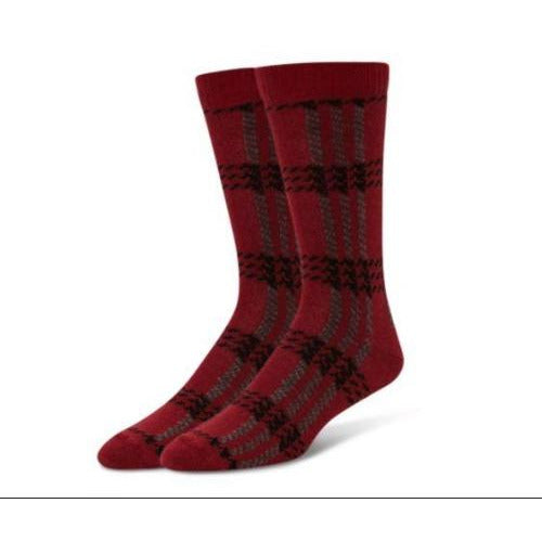 B.ELLA Mens Scotty Wool Blend Socks 0682 Red