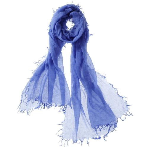 Captiva Cashmere Alta Featherweight Cashmere Scarf  Cornflower | Buy Captiva Cashmere Featherweight Scarves Today