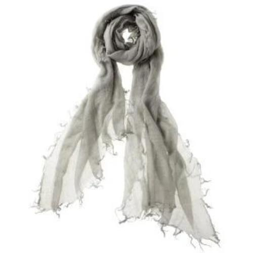 Captiva Cashmere Alta Featherweight Cashmere Scarf Frost | Buy Captiva Cashmere Featherweight Scarves Today
