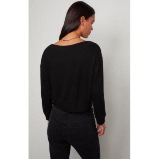 Velvet by Graham & Spencer Sloe V Neck Pullover