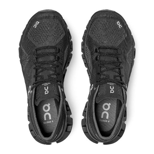 On Running Cloud X Women's Performance Sneaker Black/Asphalt | Run On Clouds