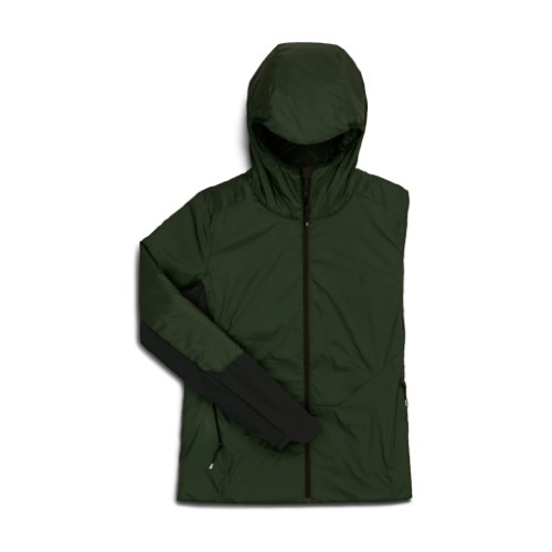 On Running Insulator Jacket Ivy/Black  | Shop On Running Women's Apparel