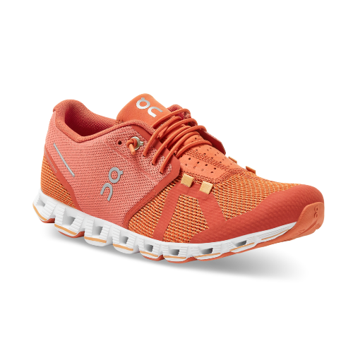 On Running Cloud Women's Sneakers Chili/Rust | Run On Clouds