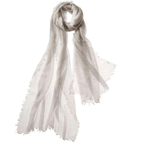 Captiva Cashmere Alta Featherweight Cashmere Scarf Stone | Buy Captiva Cashmere Featherweight Scarves Today