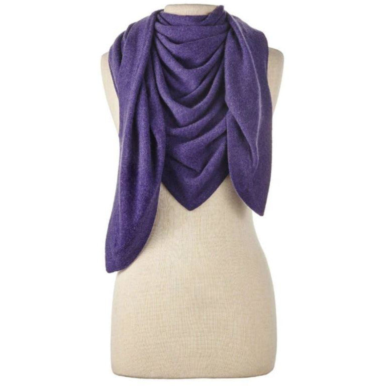 Captiva Cashmere Solid Triangle Wrap