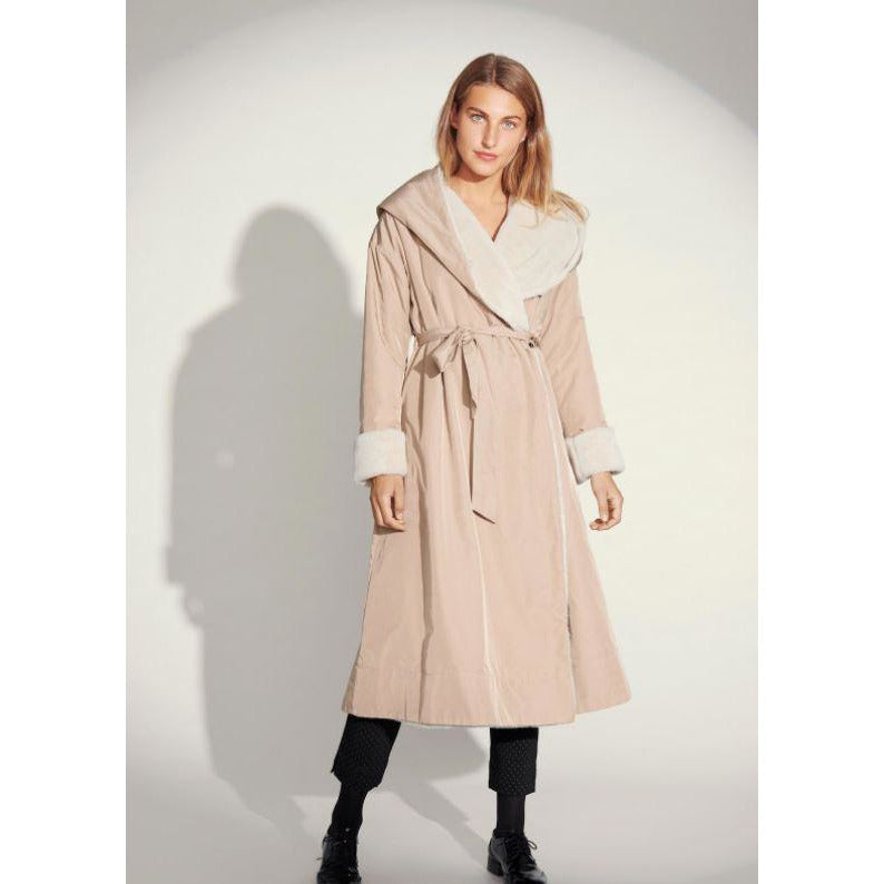 Bitte Kai Rand Yuki Water Repel Long Coat  207-2215-3038 | Clearance Final Sale