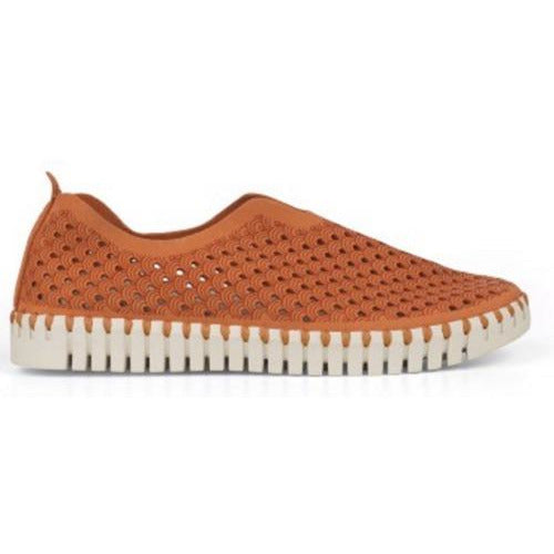 Ilse Jacobsen Tulip 139 Perforated Slip On Sneakers | Cameilla (orange)