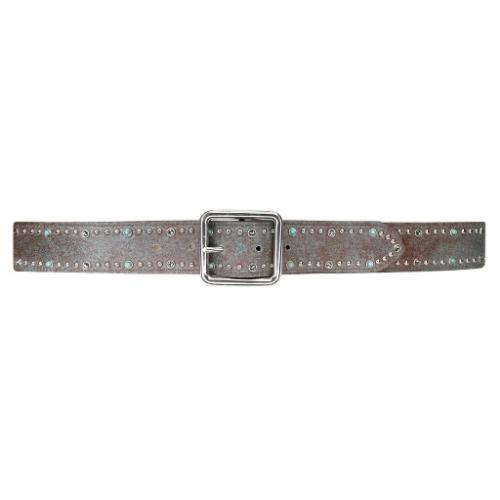 Streets Ahead Abraham Embossed Leather Belt 22001 | Shop Leather Belts