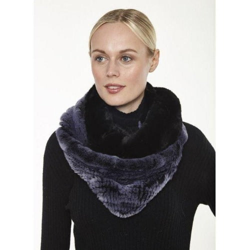 Linda Richards Rex Colorblock Infinity Scarf IN-31