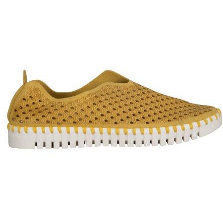 Ilse Jacobsen Tulip 139 Perforated Slip On Sneakers | Golden Rod