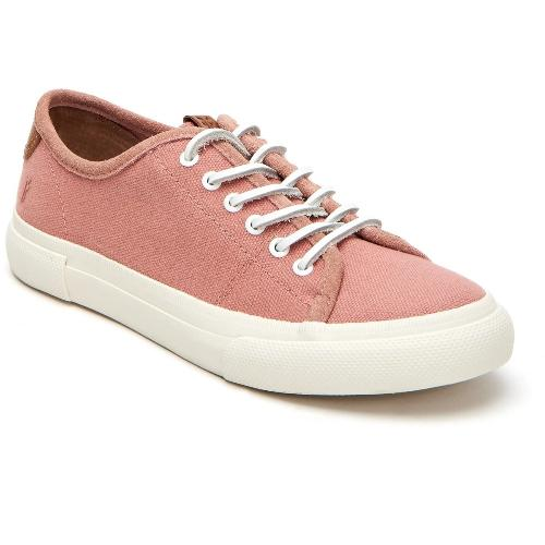 Frye Gia Canvas Low Lace 347190 Sneakers | Blush