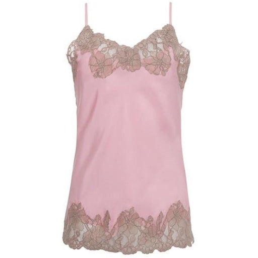 Gold Hawk Marilyn Silk and Lace Cami GH156 Ballerina Pink/Mauve Lace