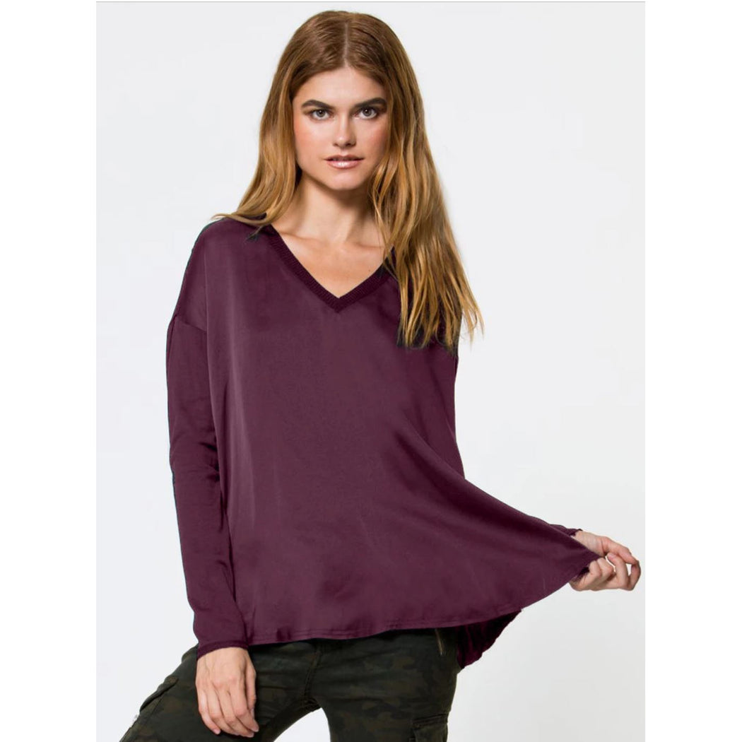 Go By Go Silk Go Vee Tee Top T820 | Clearance Final Sale