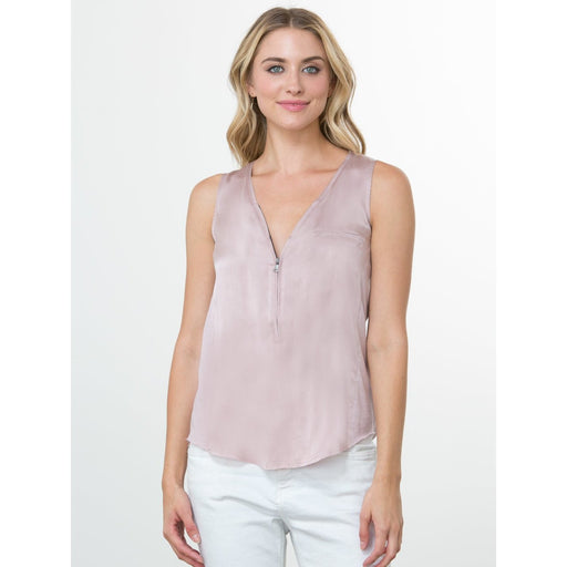 go>Go Silk Iconic Go Zippy Tank Luxe Silk T952 Quartz |  Buy Go Zippy Tank Luxe Today