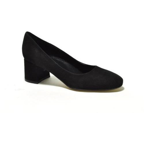 Cordani Nanette Suede Round Toe Mid Heel Pump | Clearance Sale | No Return