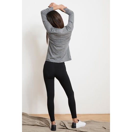 Velvet by Graham & Spencer Jillette Ponti Leggings Black | Ponti Knit Bottoms | Shop Velvet by Graham & Spencer Now