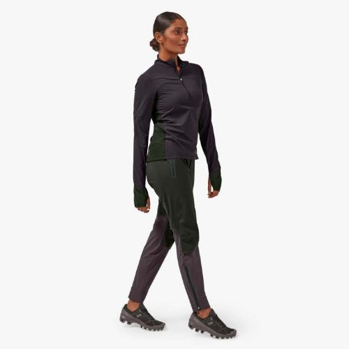 On Running Trail Breaker Top Pebble/Shadow | Shop On Running Women's Apparel