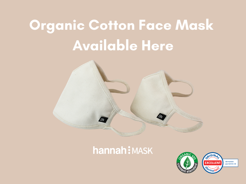 Looking For Reusable Organic Cotton Face Mask? We Have the Eco Solution– hannahMASK
