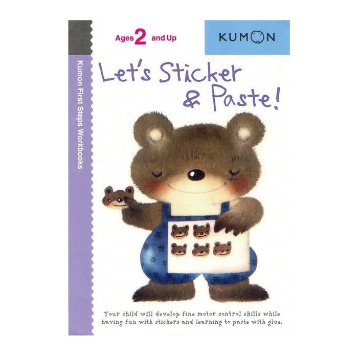 KUMON Let's Sticker and Paste