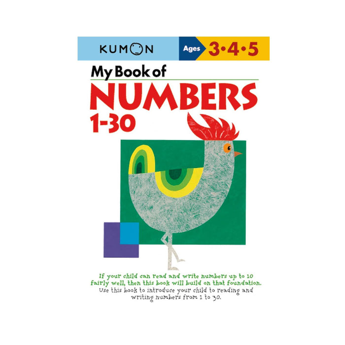 KUMON My Book of Numbers 1−30