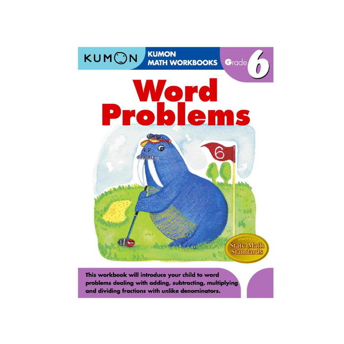 KUMON Grade 6 Word Problems