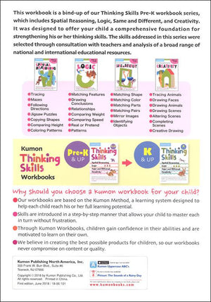 KUMON Thinking Skills Pre-K & Up