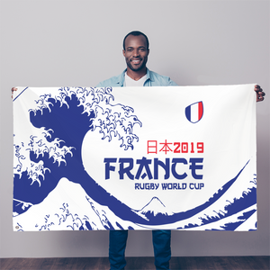 'Great Wave' - France Flag