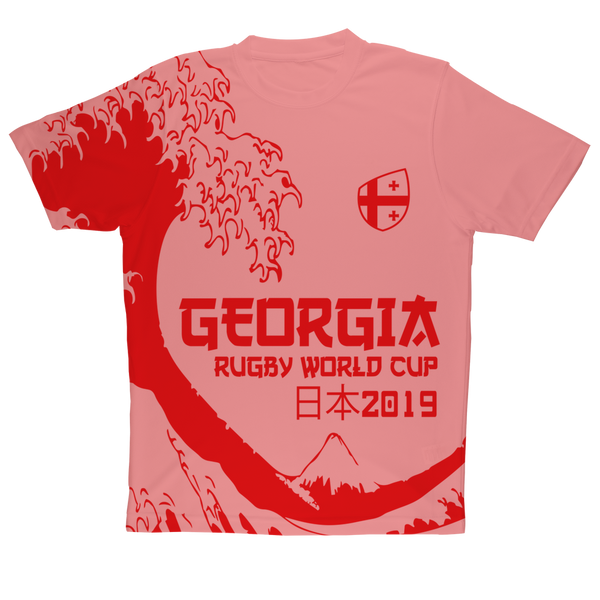 Ladies - Georgia - 'Great Wave' Performance T-Shirt