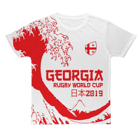 Ladies - Georgia - 'Great Wave' T-Shirt