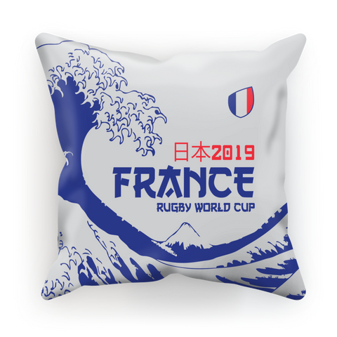 'Great Wave' - France Cushion Cover