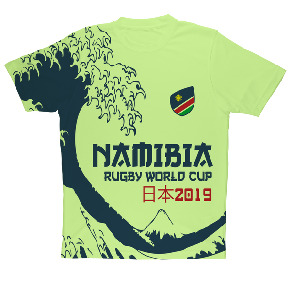 Mens - Namibia - 'Great Wave' Performance T-Shirt