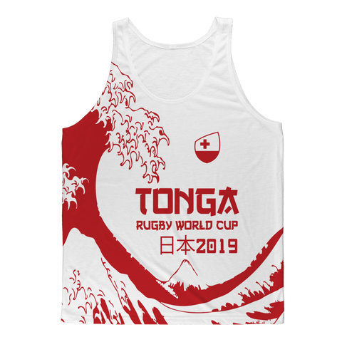 Mens - Tonga - 'Great Wave' Athlete Vest